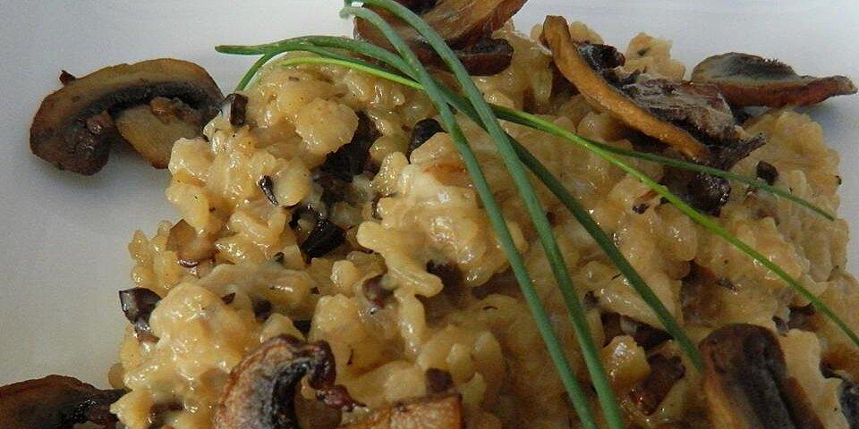 chef johns baked mushroom risotto