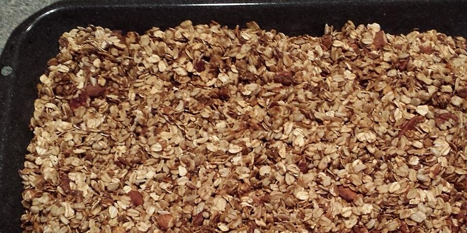 homemade granola cereal recipe