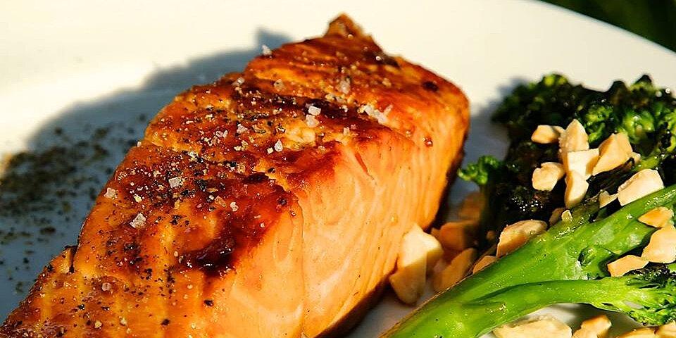 sweet glazed salmon recipe