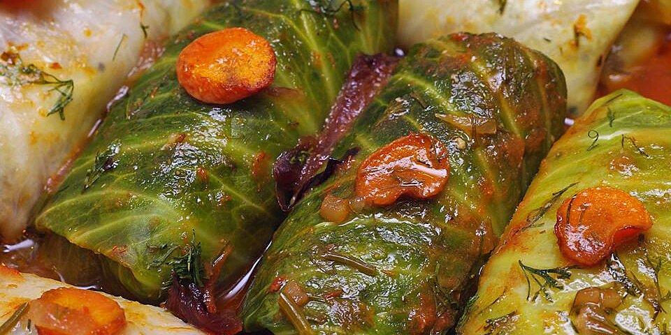 cabbage rolls with quinoa recipe