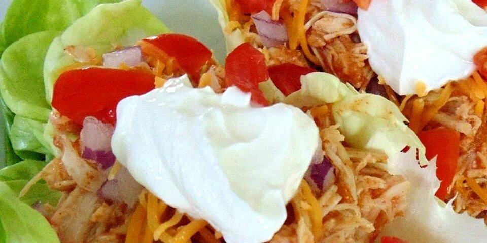 fiesta slow cooker shredded chicken tacos recipe