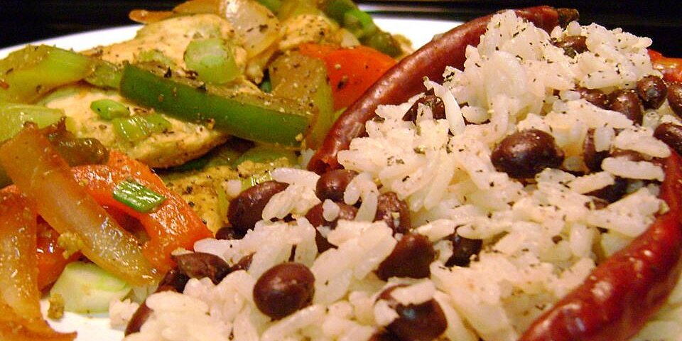coconut rice with black beans recipe