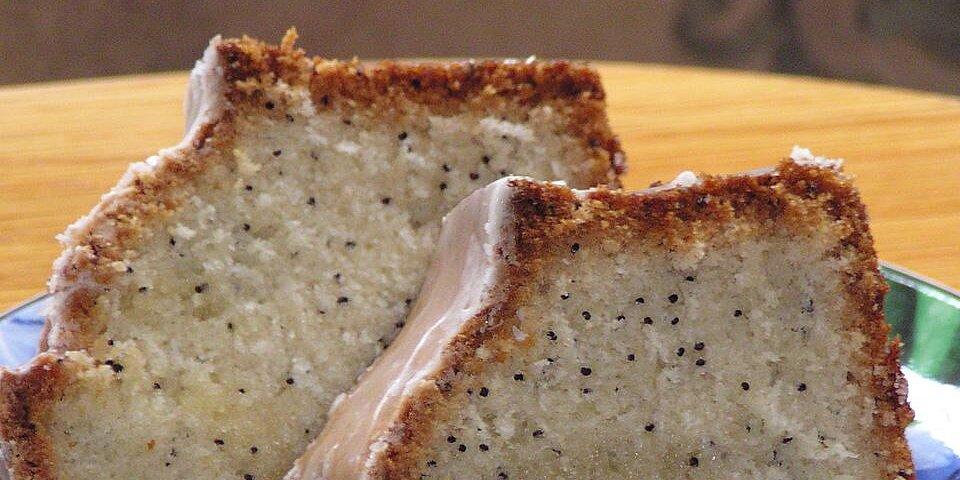 poppy seed bread with glaze recipe