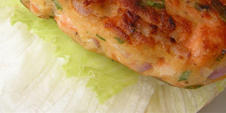 salmon rosemary burgers recipe