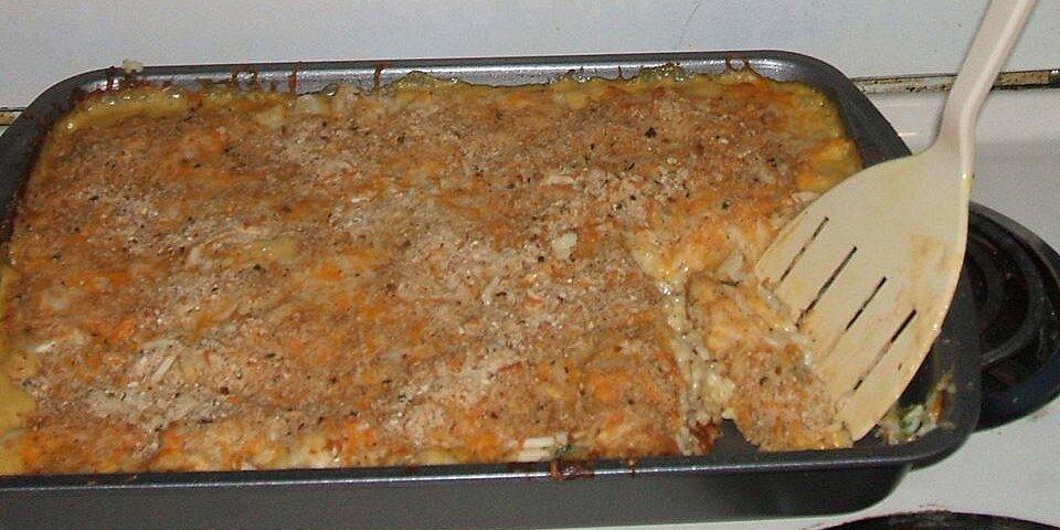 broccoli cheese casserole with rice recipe