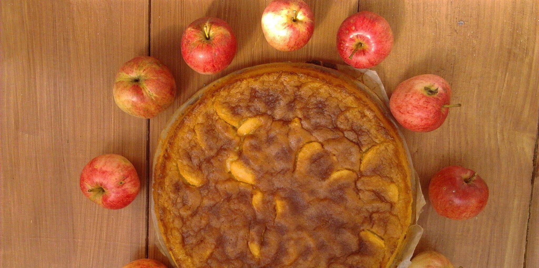 russian apple cake recipe