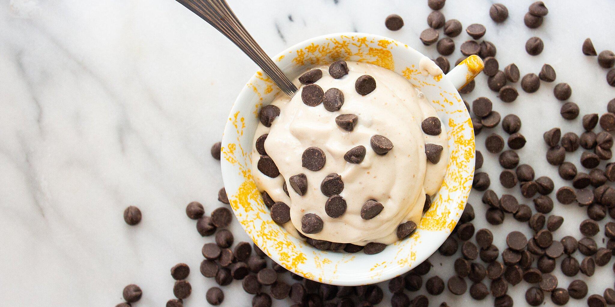 chocolate chip mint vegan nice cream recipe