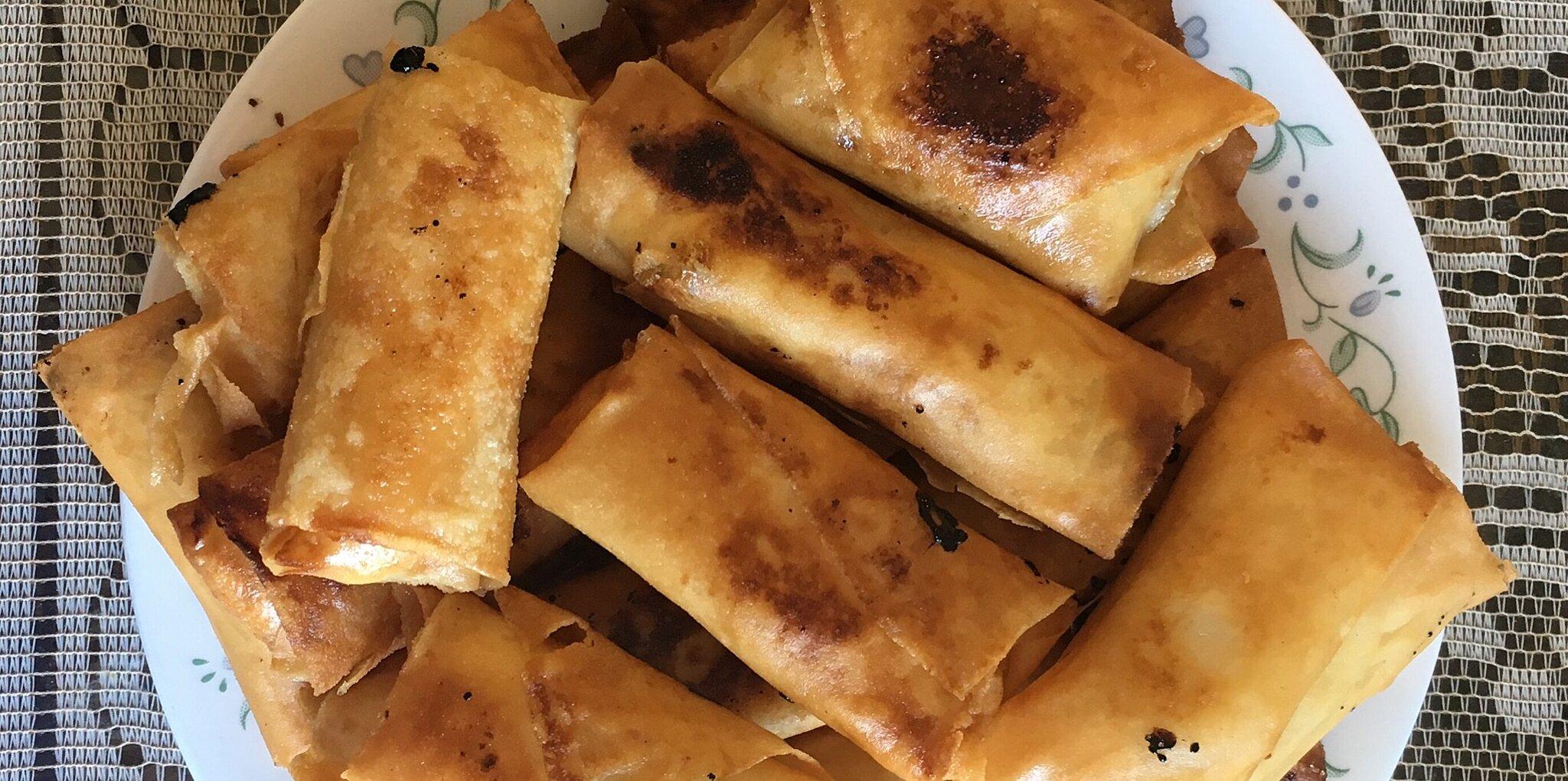 plantain egg rolls turon recipe