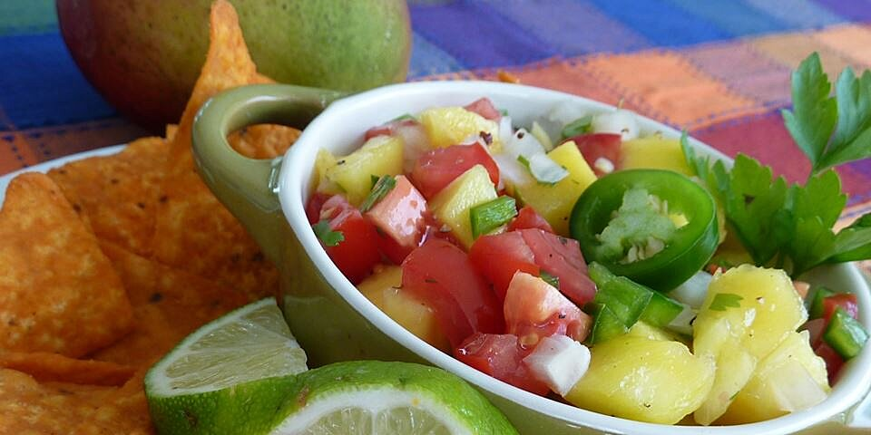 quick mango salsa recipe