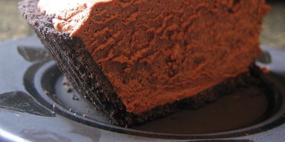 rich chocolate truffle pie recipe