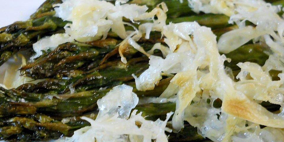 broiled asparagus parmesan recipe