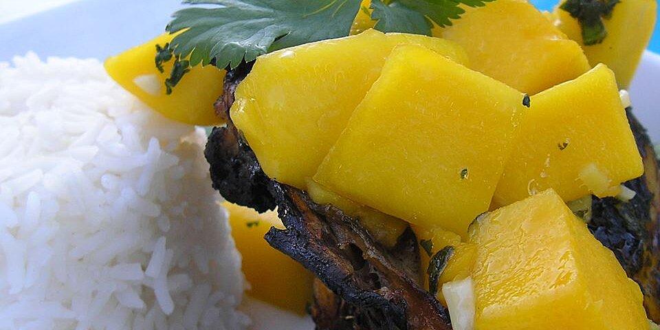 grilled chicken with fresh mango salsa recipe