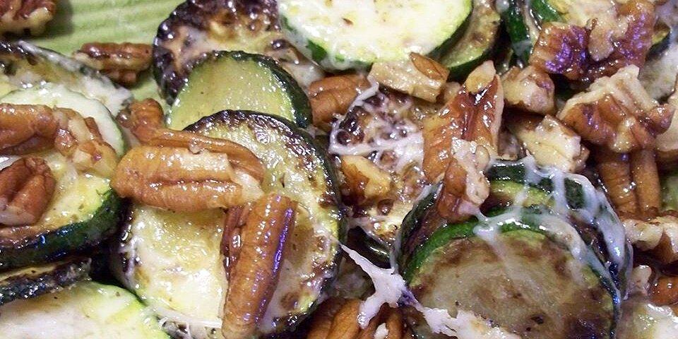 zucchini and pecan saute recipe