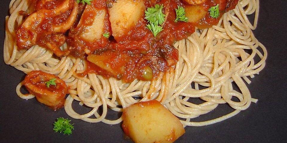 octopus in tomato sauce recipe