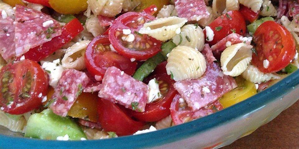 antipasto pasta salad recipe