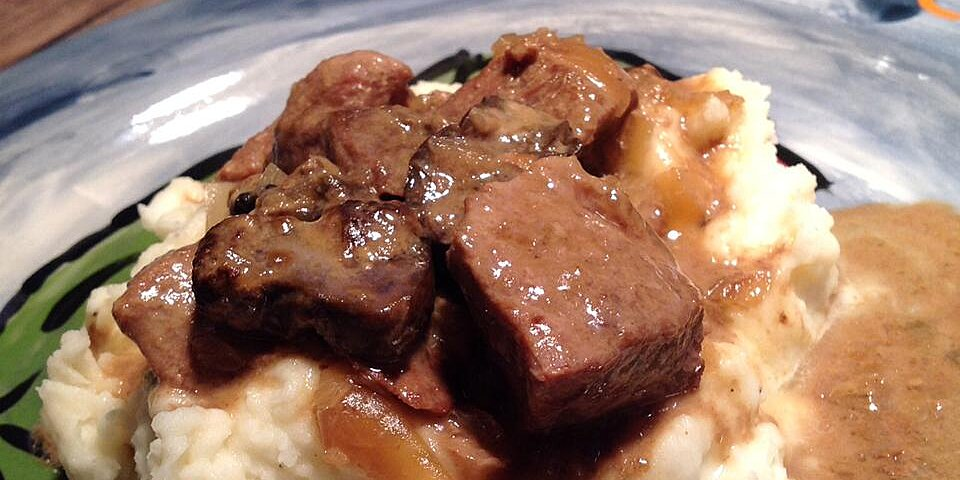 savory slow cooker beef tips recipe