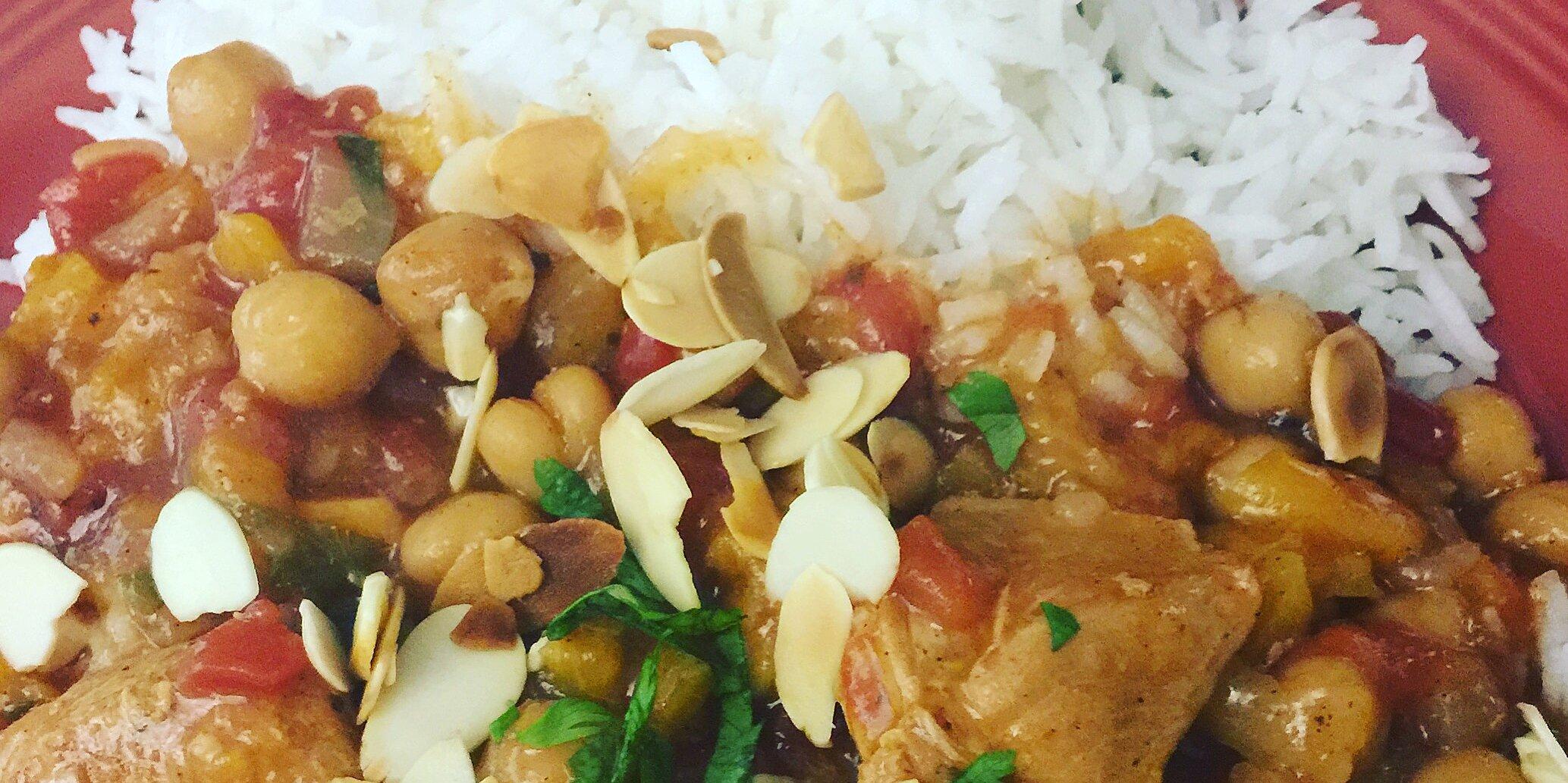 slow cooker moroccan chicken recipe