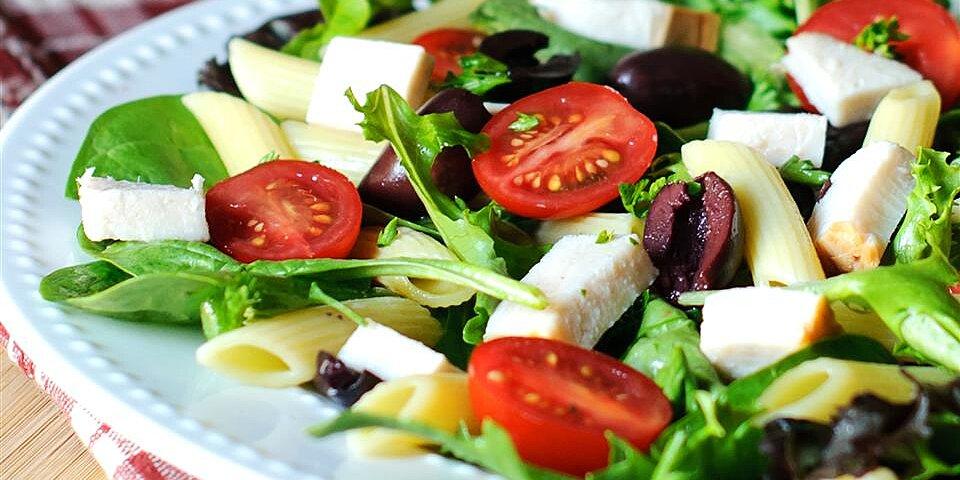 mediterranean turkey pasta salad recipe