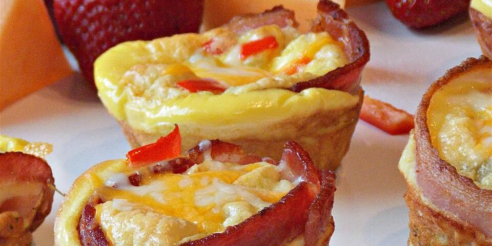 bacon and egg muffins recipe