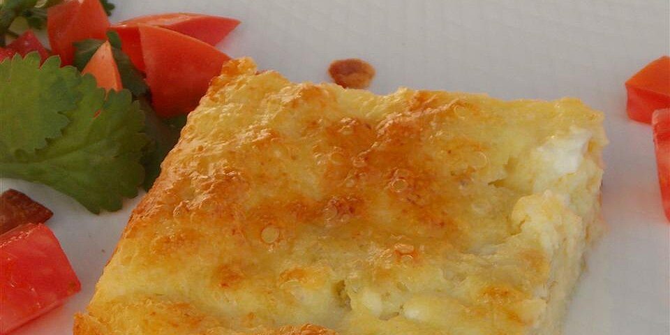 back to fast and fabulous egg and cottage cheese casserole recipe