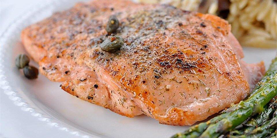 pan seared salmon i recipe