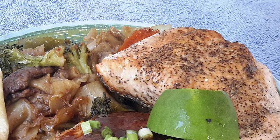 salmon in oyster sauce recipe