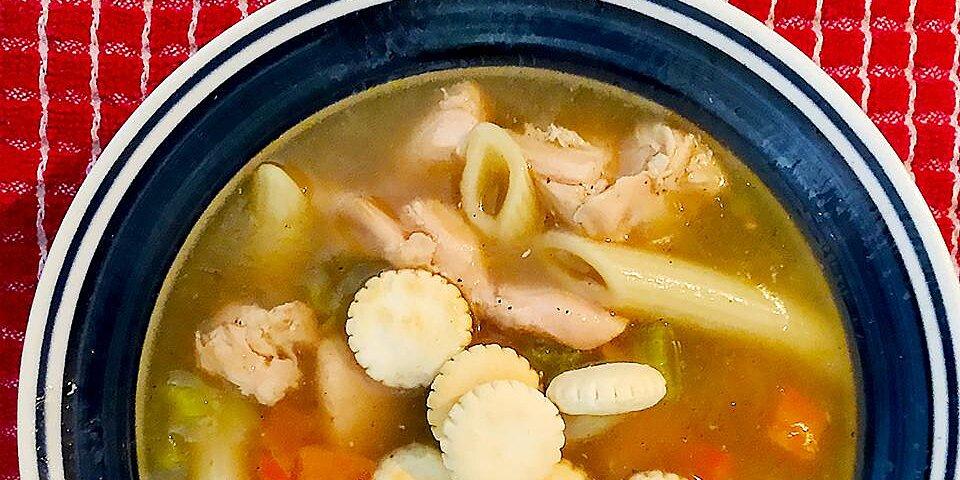 grandmas chicken noodle soup recipe