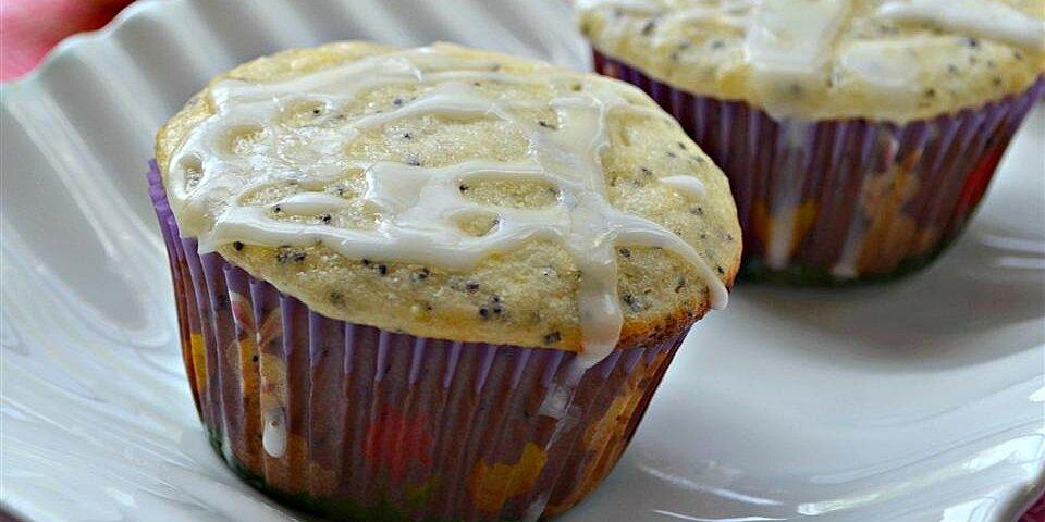 lemon poppyseed muffins with lemon glaze recipe