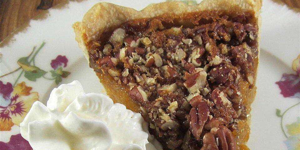 pumpkin pecan pie iii recipe