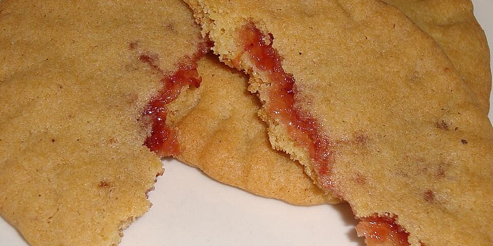 grannys strawberry preserves filled cookies recipe