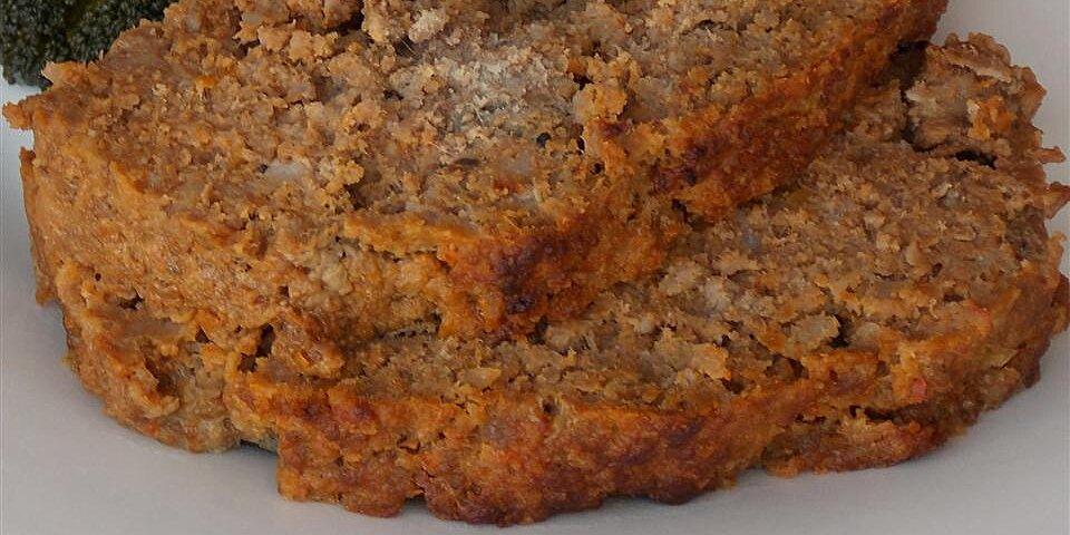 hidden veggie meatloaf recipe