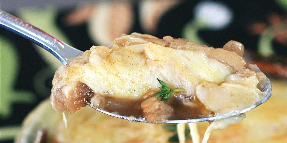 french onion soup gratinee recipe