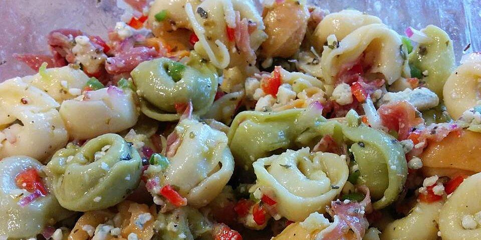 gorgonzola and prosciutto tortellini salad recipe