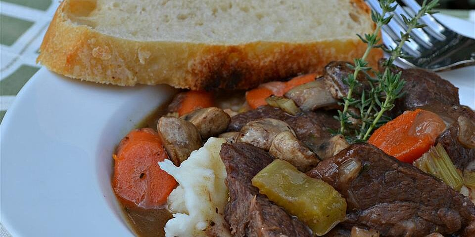 beef bourguignon without the burgundy