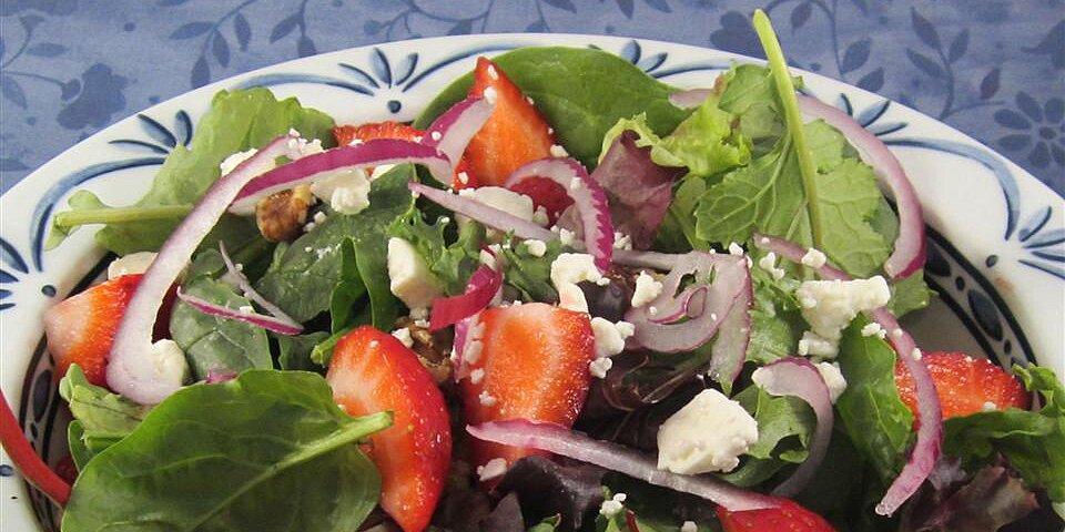 summer strawberry salad recipe