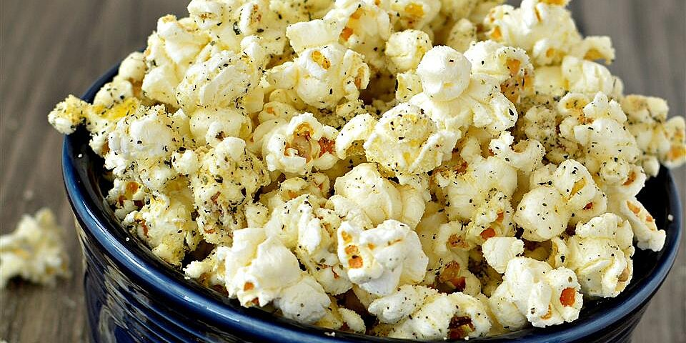 italian popcorn with parmesan recipe