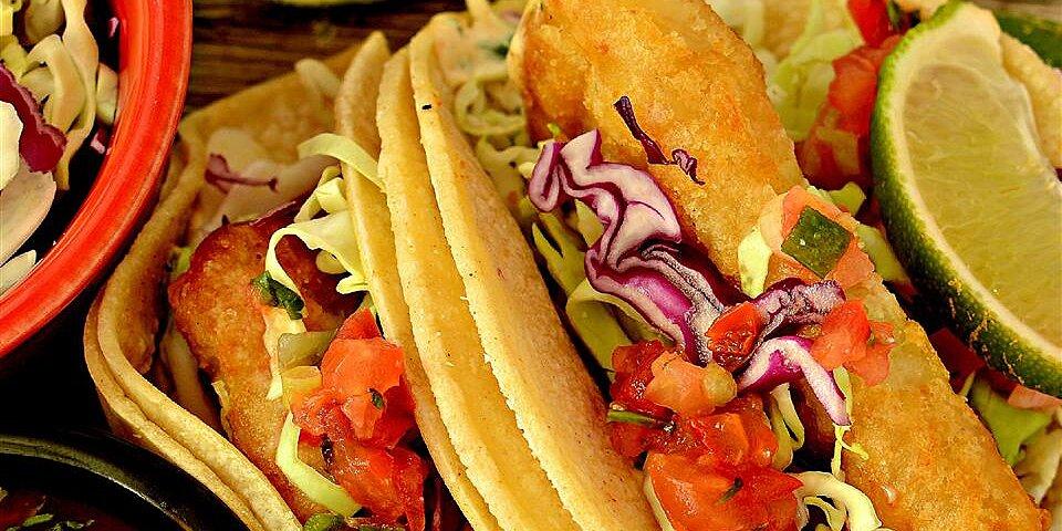 wonderful fried fish tacos recipe