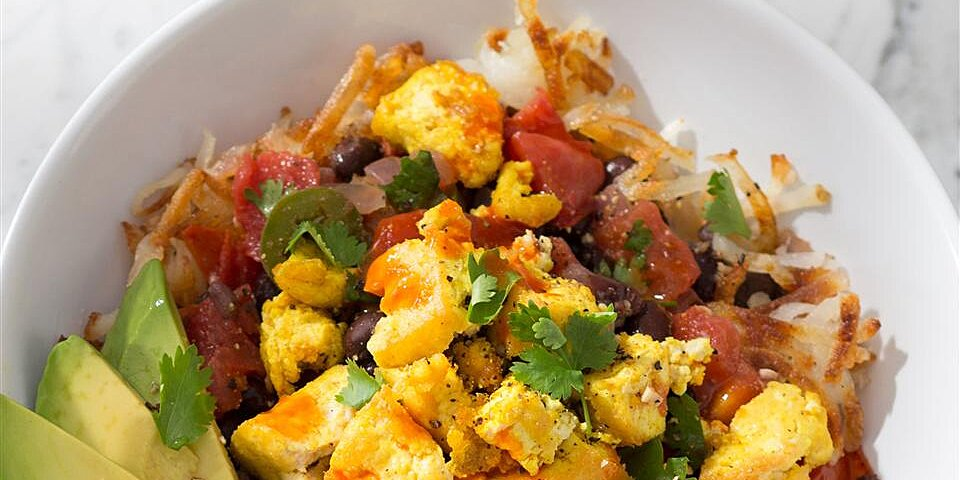 ultimate tofu breakfast burrito bowls recipe