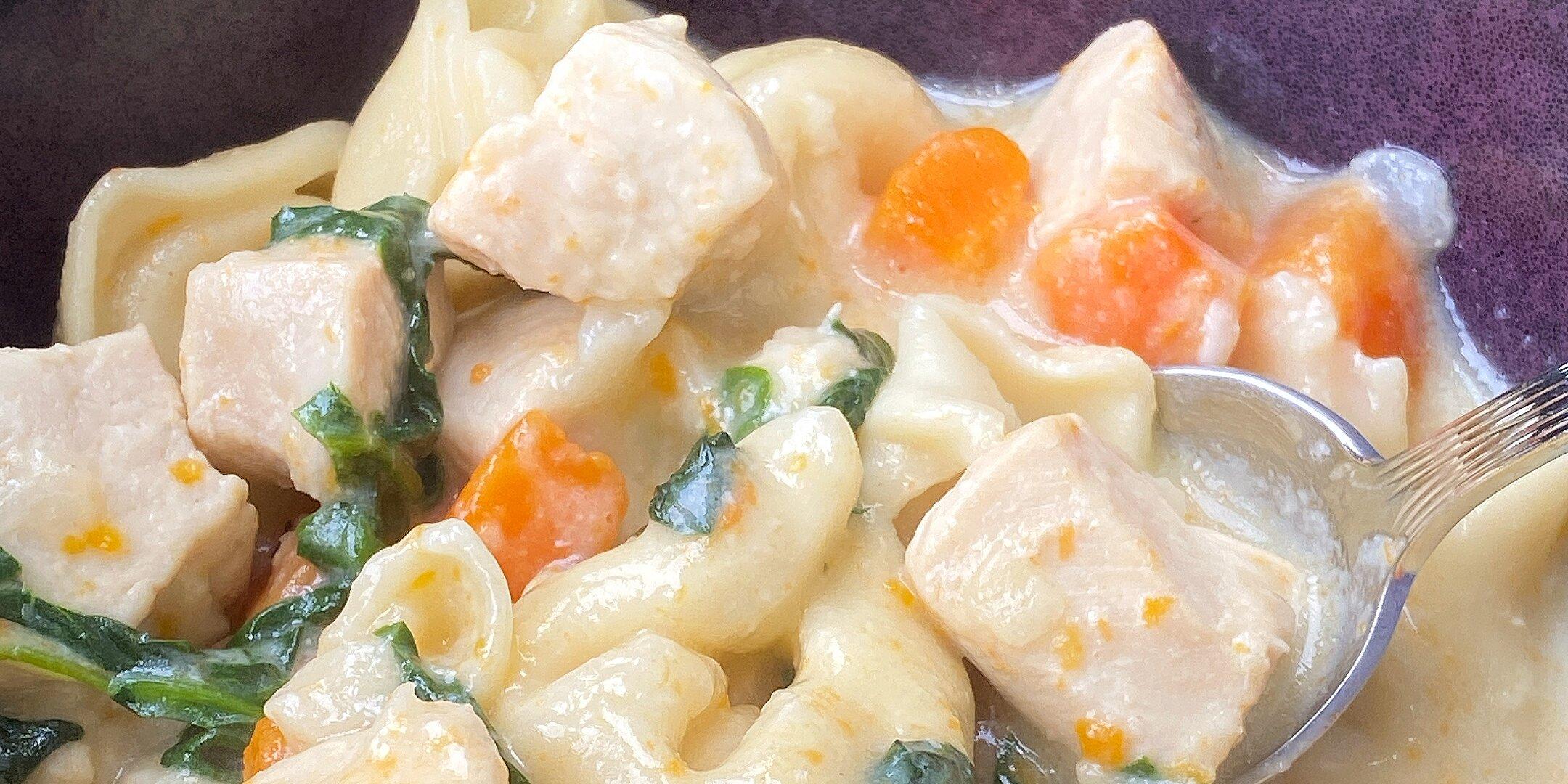 instant pot chicken tortellini soup