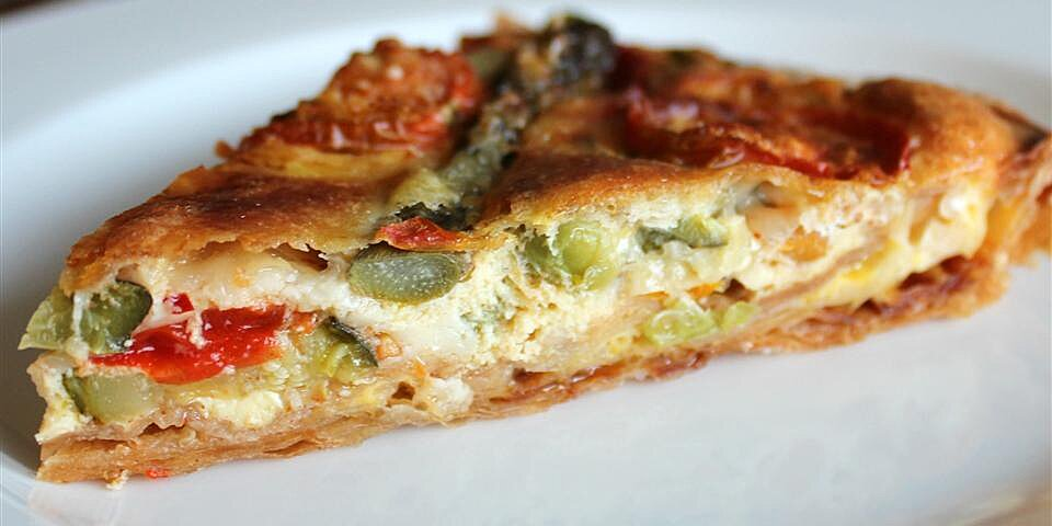 vegetarian quiche recipe
