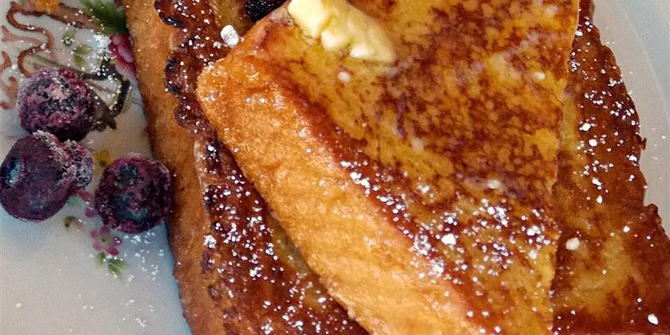 vanilla almond spiced french toast recipe