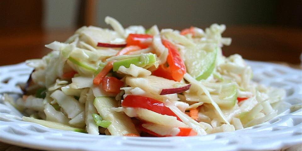 easy apple coleslaw recipe
