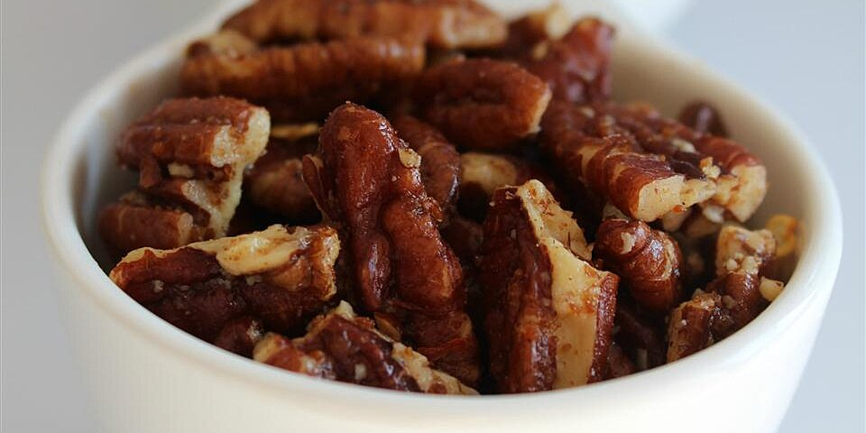 paleo candied hot roasted pecan bits recipe