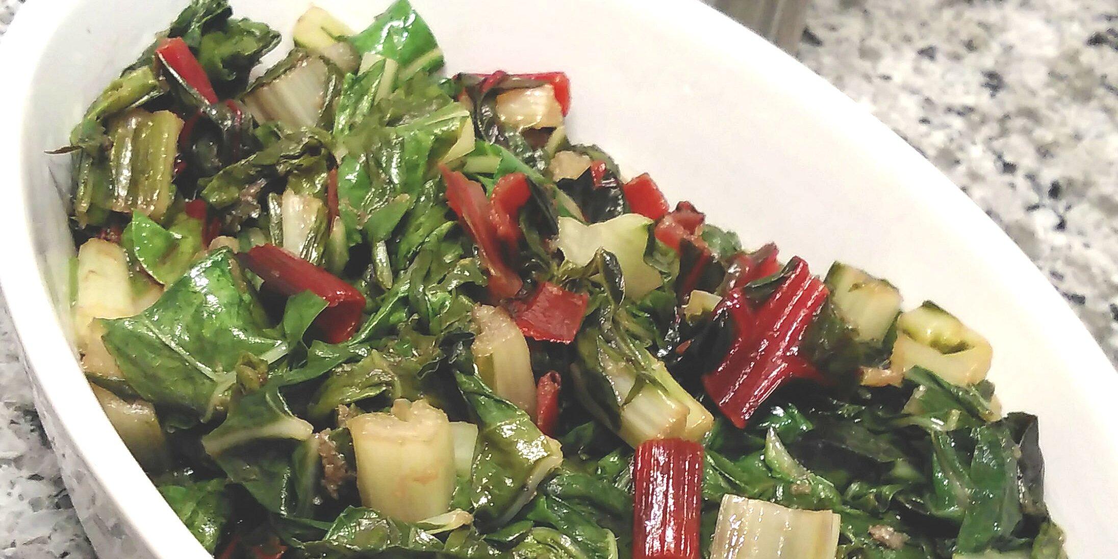 simple swiss chard recipe