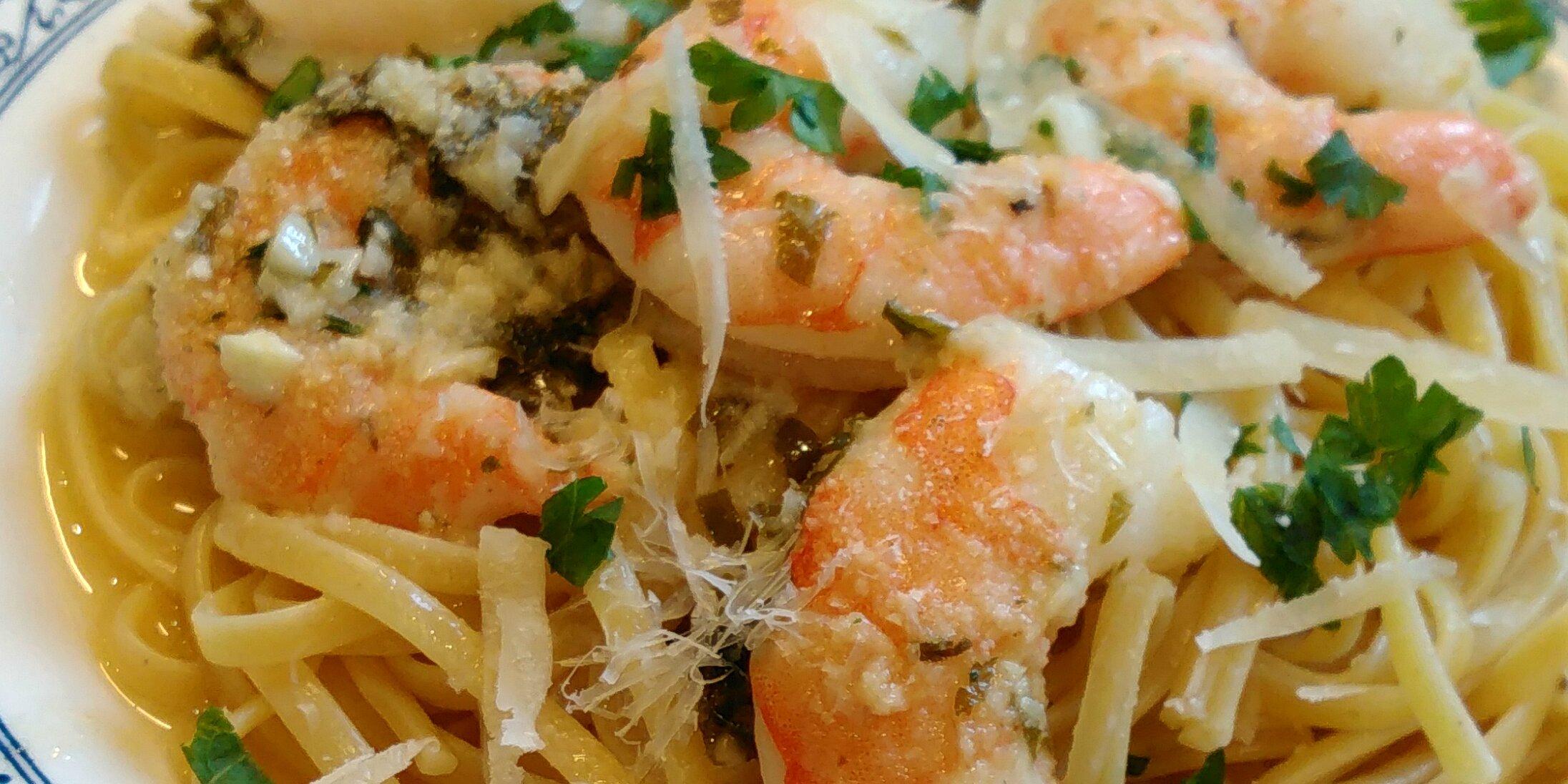 garlic shrimp scampi bake recipe