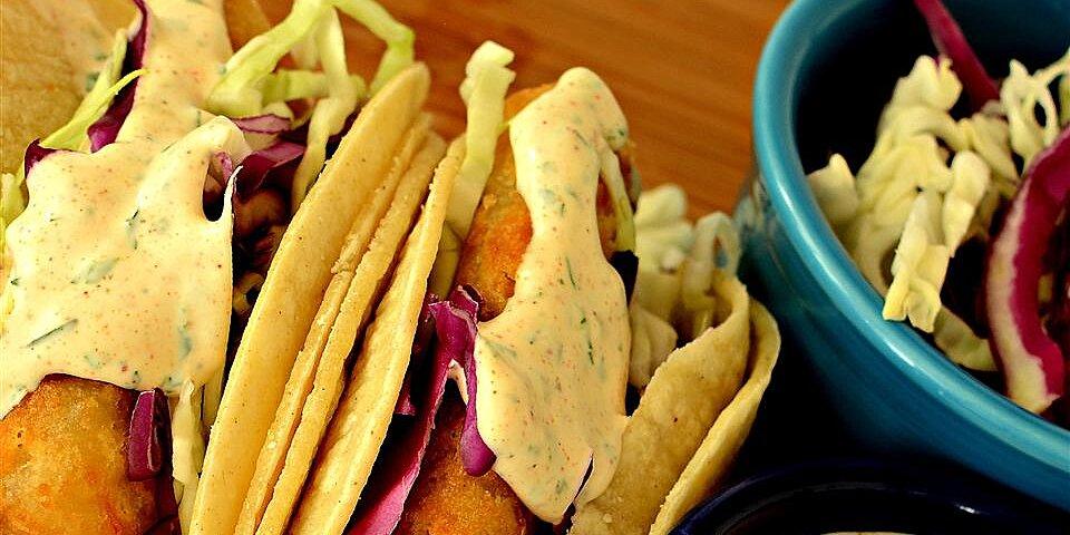 baja sauce for fish or shrimp tacos recipe