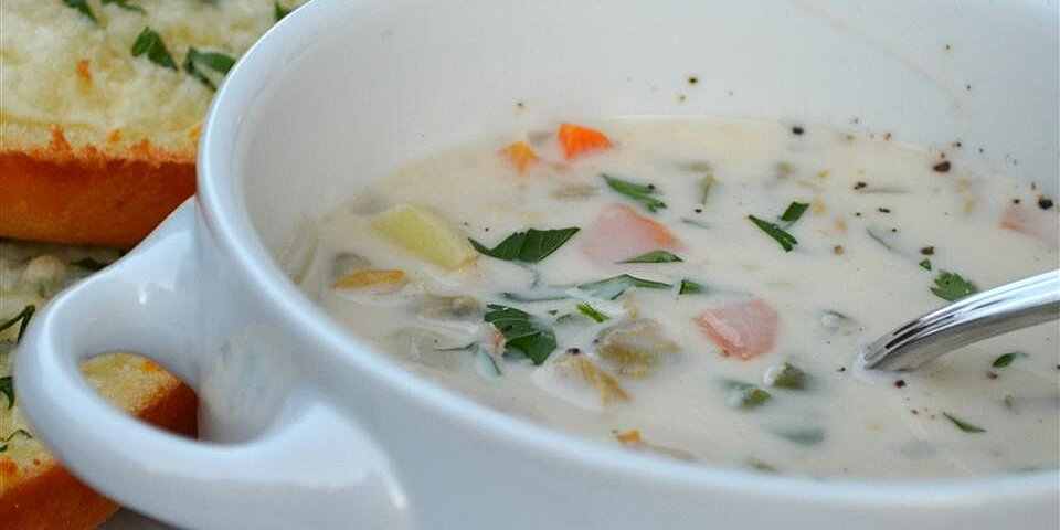 my best clam chowder