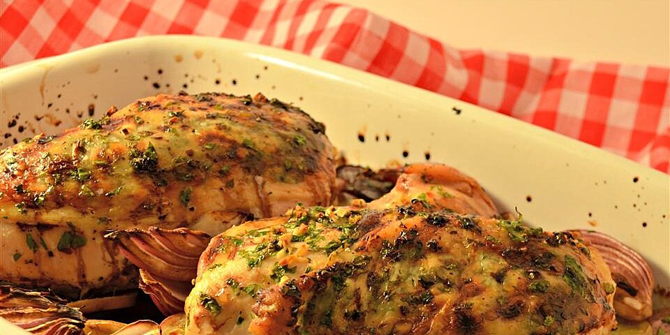 balsamic chicken with red onions and potatoes recipe