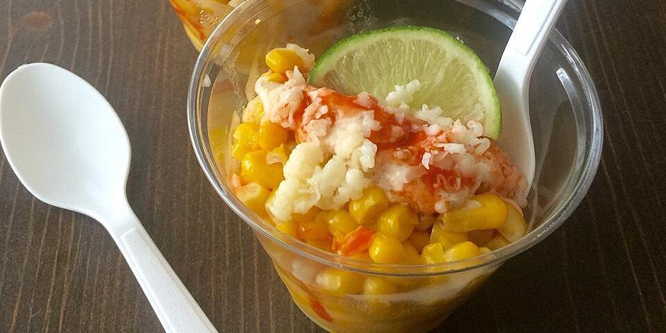 corn in a cup elote en vaso recipe