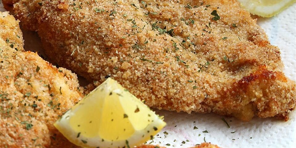 baked chicken schnitzel recipe